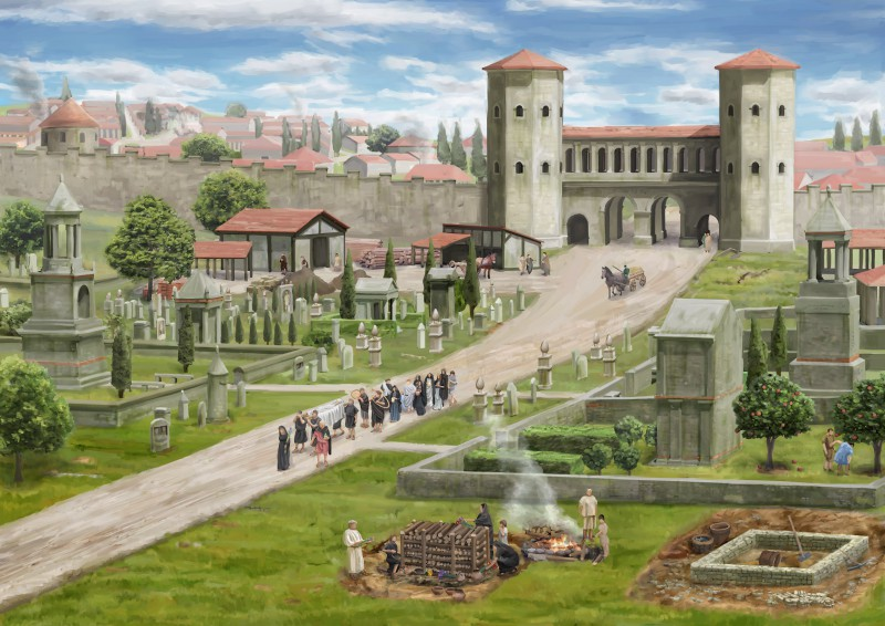 Aventicum - Eine römische Hauptstadt