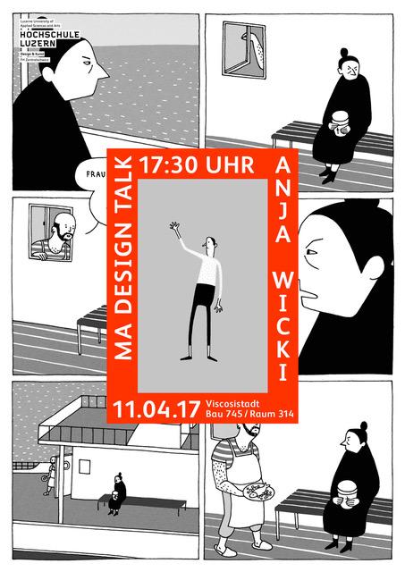 MA DESIGN TALK: Anja Wicki