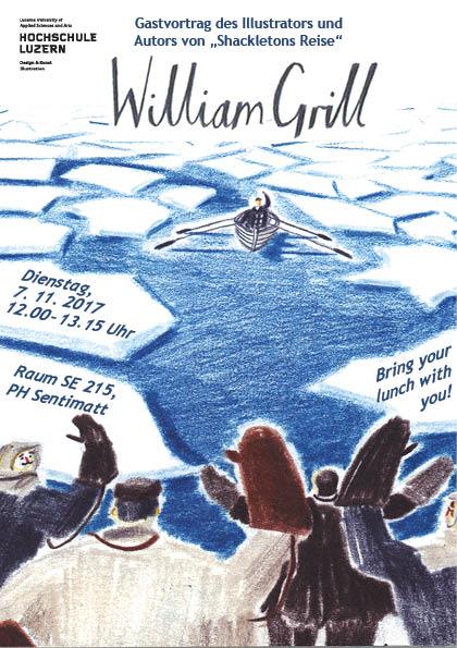 Vortrag: William Grill