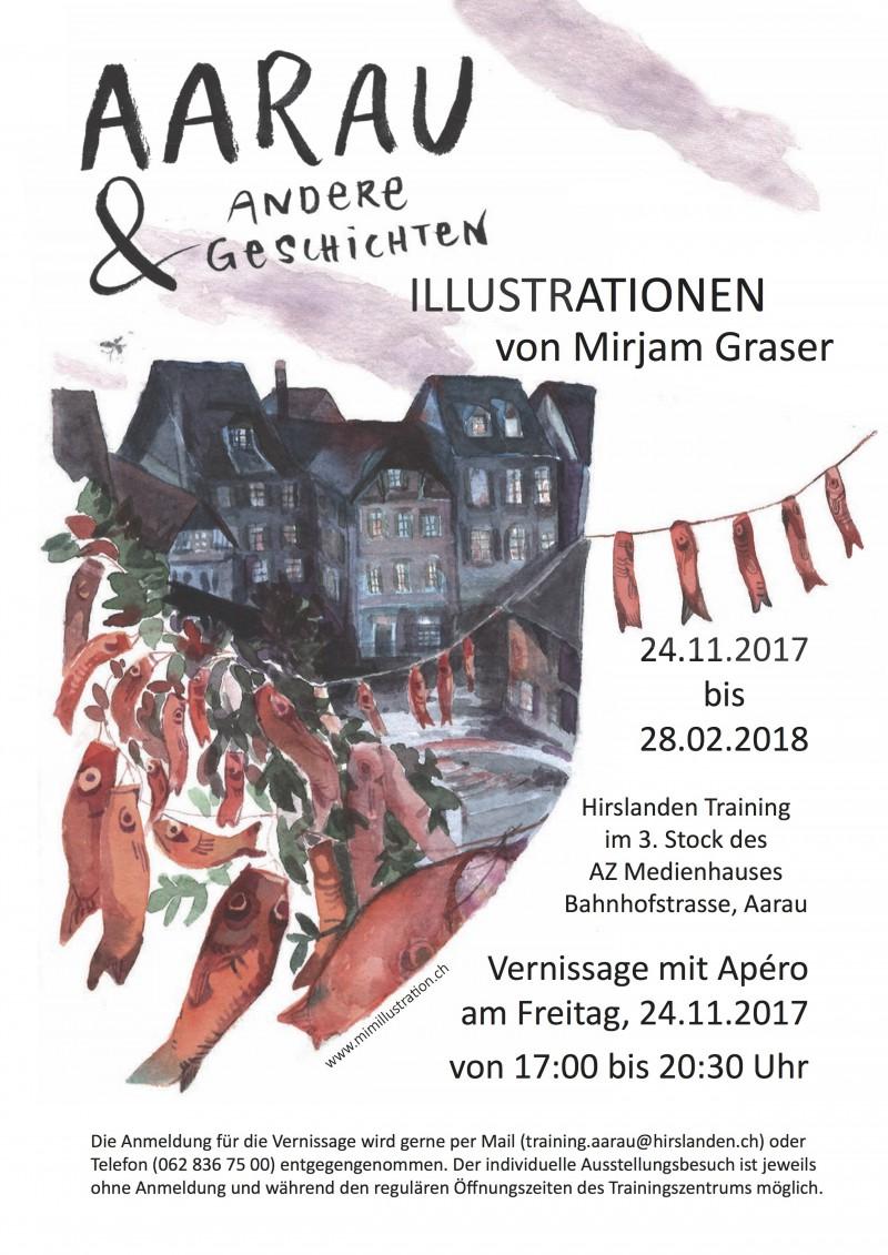 Ausstellung: Aarau und andere Geschichten