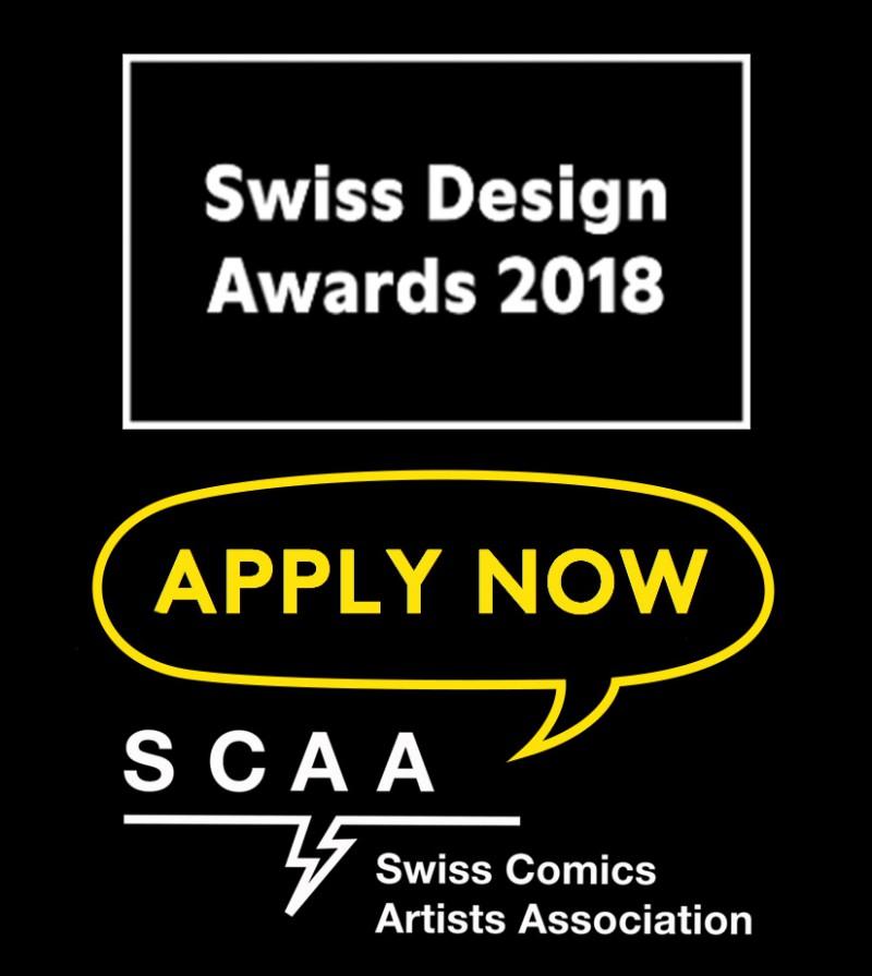 Swiss Design Awards: Comics und Illustrationen gesucht