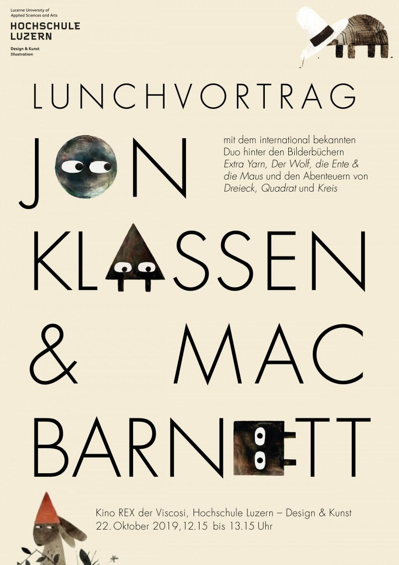 Vortrag Jon Klassen & Mac Barnett