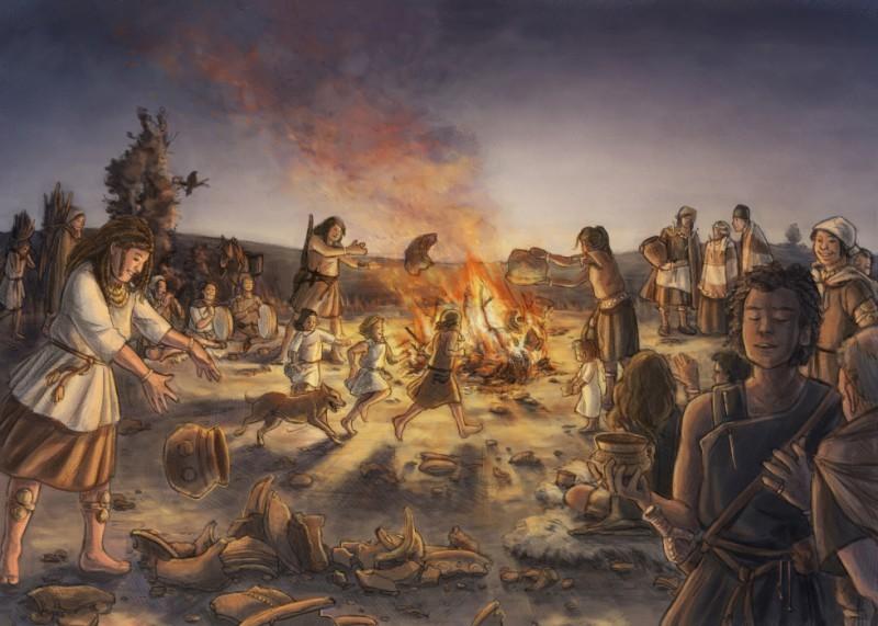 Misha Baldachin: Bronzezeitliche Festpraktik